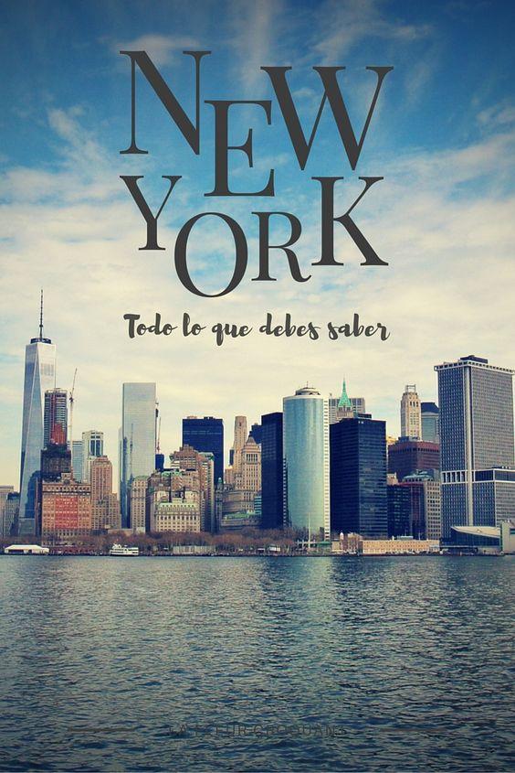 Todo lo que deberías saber antes de viajar a Nueva York: