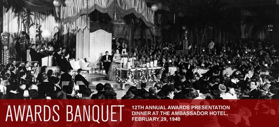 12th ACADEMY AWARDS ~ Prior to 1941, the Academy would give the winners list in advance to newspapers for publication at 11 p.m. on the night of the Awards. That policy was changed to the sealed-envelope system after the Los Angeles Times broke the embargo in 1940 and published the names of the winners in its February 29, 1940 evening edition, which was readily available to guests arriving for the ceremony.   www.oscars.org