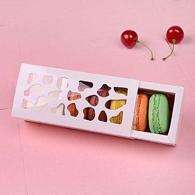 Hollow Macarons Chocolate Gift Box Packaging by JoyfulWayCakes