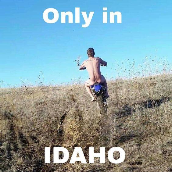 #OnlyinIdaho