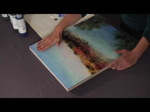 Nice collection of videos showing glazing with acrylic for Nice acrylic paintings