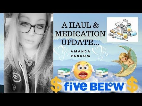 Five Below Haul Insurance Meds Update March 2019 Youtube