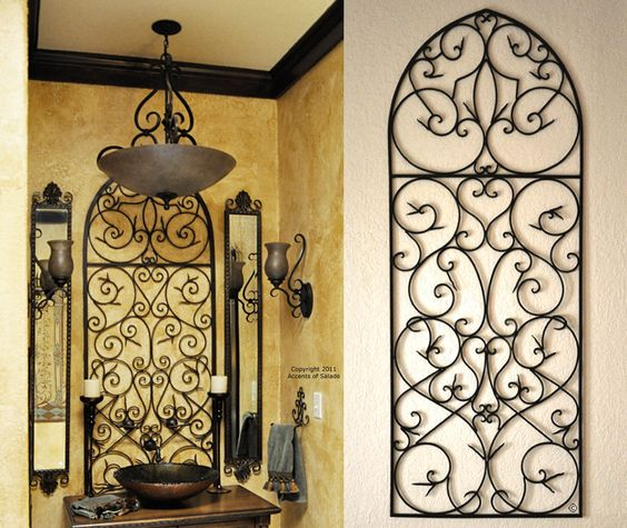 Wall Metal Art For Bathroom : Metal walls iron wall and decor on