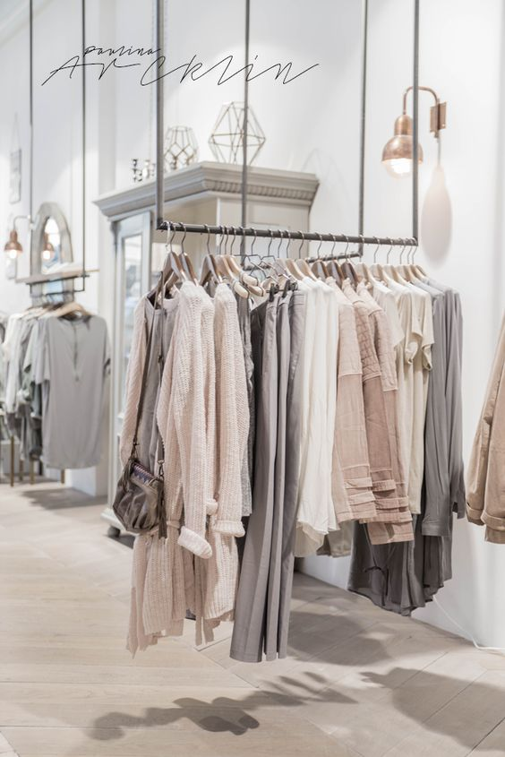 Visual merchandising for a fashion store - For business ...