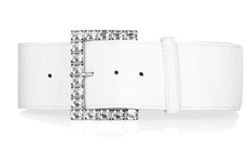 Donna Karan Crystal-embellished Belt