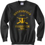 CAPTAIN Hufflepuff Quidditch team Unisex Sweatshirt.