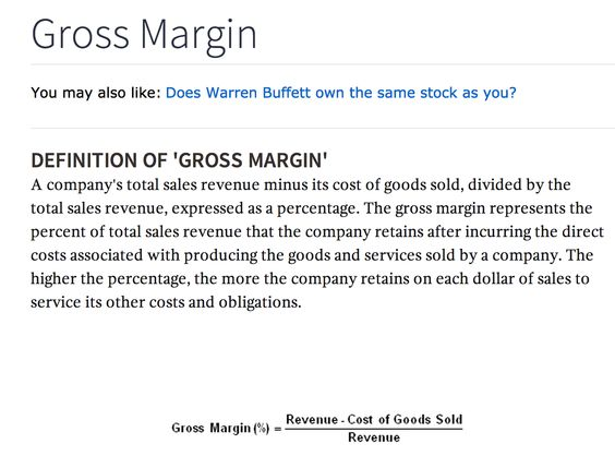 The  Best Gross Margin Ideas On   Accounting