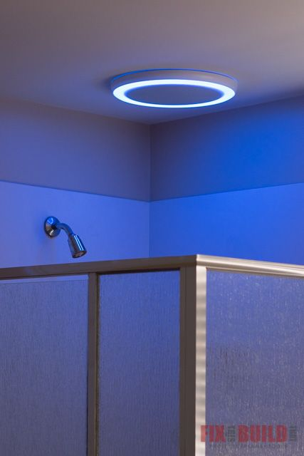 How To Install A Bathroom Fan With Bluetooth Speakers Fixthisbuildthat Bathroom Fan Bathroom Interior Design Bathroom Design Layout