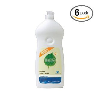 Be environmentally conscious - Seventh Generation Biodegradable dishwashing liquid: