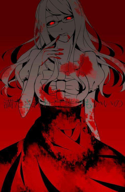 怖い雰囲気のリゼの東京グールの画像