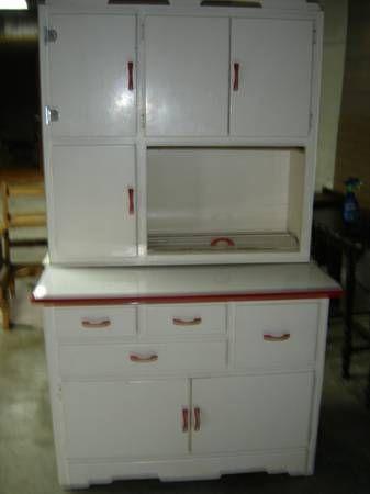 Hoosier Cabinet Lenoir City 200 Rare Scheirich Hoosier
