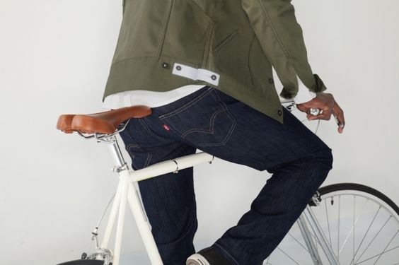 Levi's 2012 Fall/Winter Commuter Series | Olive and Indigos