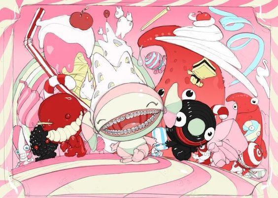 Toxic Candies : Berry & Pomme d'Amour By Stéphane Levallois x Artoyz KICKSTARTER