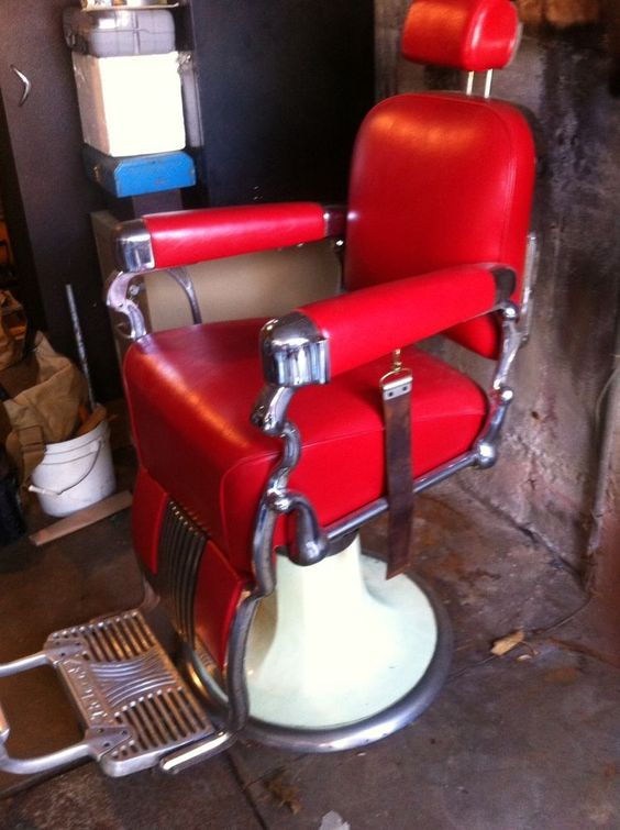 antique belmont barber chair barber chair shop pinterest coiffeurs pour homme. Black Bedroom Furniture Sets. Home Design Ideas