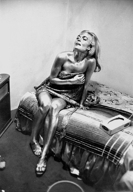 Shirley Eaton - Goldfinger Candid - 1964