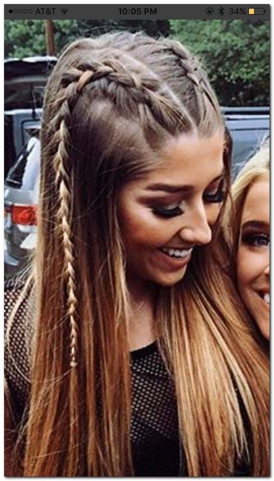 30 Cute And Easy Long Hairstyles For School Easy Hairstyles For Long Hair Curls For Long Hair Hairstyles For School