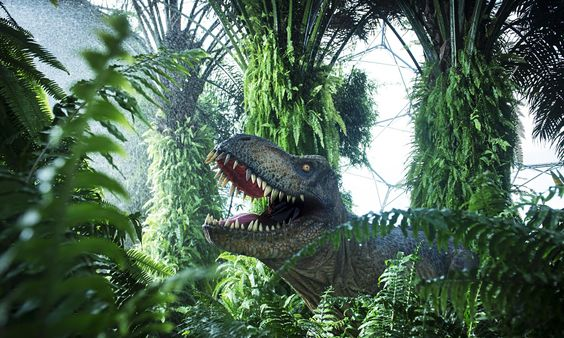 The new T Rex lurking in the Eden Project jungle this summer joins a pack of other dinosaur attractions at UK theme parks and museums