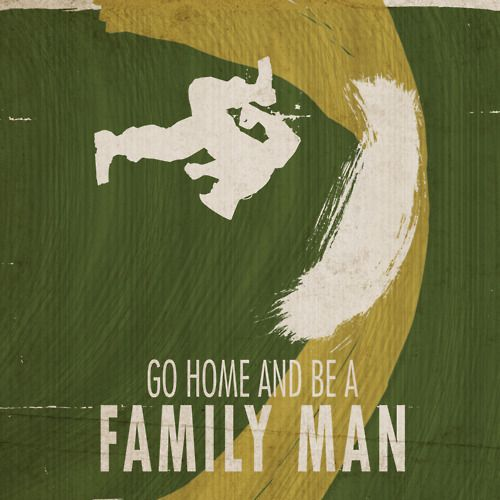 Go Home And Be A Family Man Guile streetfighter