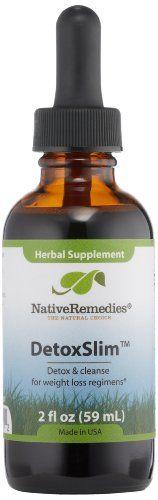 Native Remedies Detoxslim, 2 Fluid Ounce $31.99