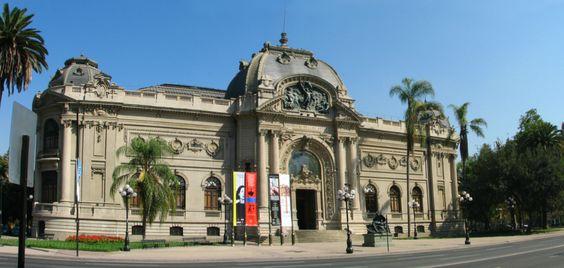 Bellas Artes museum, Santiago, Chile.