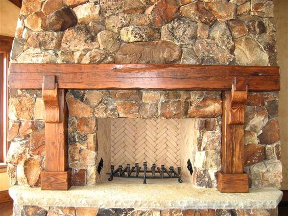 Barn beam mantles the timeless material co new for Timeless fireplace designs