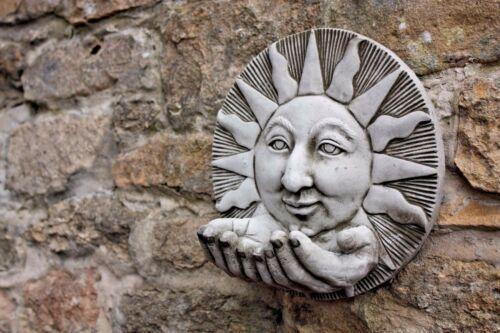 Stone Sun Garden Wall Bird Feeder