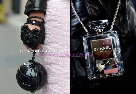 Chanel Plexiglass Globe Clutch | Look for Less at/on http://www.trendbite.com/2015/08/chanel-plexiglass-globe-clutch-look-for.html#.VdYlhpcRVOZ