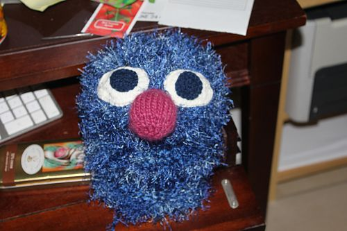 @Mary Hay... something we can do with the leftover blue fun fur :)