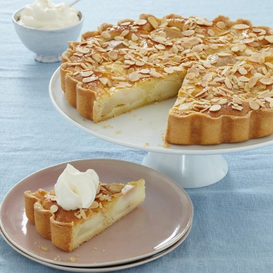 Frangipane tart, Mary berry and Pears on Pinterest