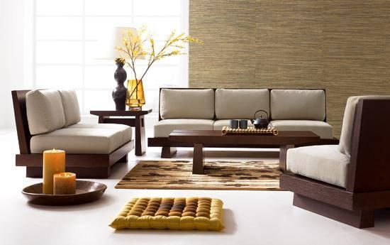 Modern Wooden Sofa Set Designs For Small Living Room Japanese Living Rooms Living Room Remodel Wooden Sofa Set