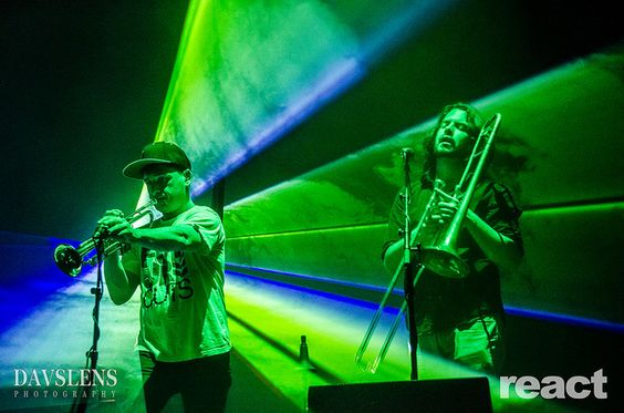 Two of the band members in Pretty Lights