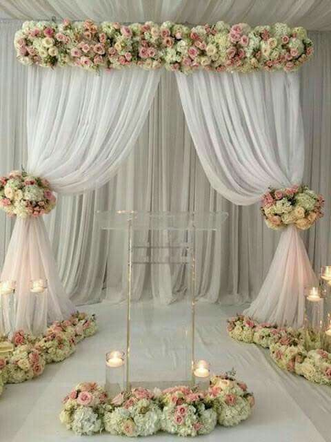 Mesa De Los Novios By Lucita Campos Diy Wedding Backdrop