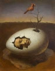 Image result for surreal images with eggs