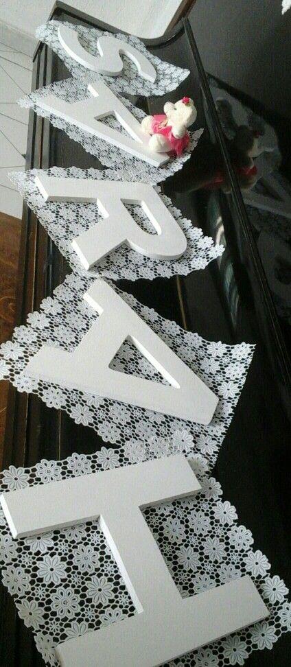 Palavras decoradas  Encomendas  Www.facebook.com/palavraseletrasdecorativas