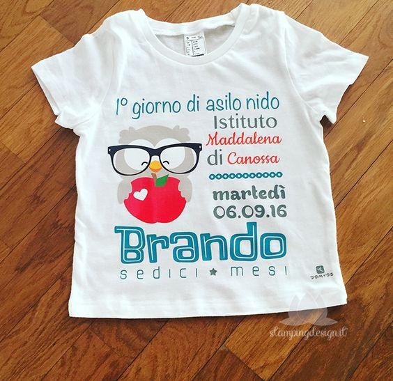 maglietta primo giorno di scuola - First Day of School T-Shirt