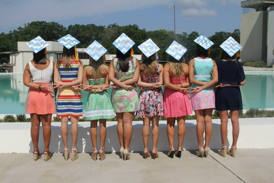 Lilly, diamonds, and graduation! TSM.