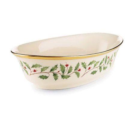 Lenox Holiday Open Vegetable Bowl