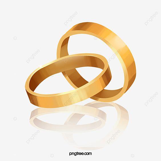 خاتم ذهب التنزيلات الحرة الذهب حب جوهرة Png وملف Psd للتحميل مجانا In 2021 Gold Clipart Muslim Wedding Cards Gold Rings