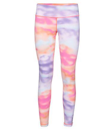 Damen Tight Yoga Legging Printed #reebok #tights #yogapants