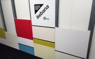 Les plaques de plâtre Placo prennent de la couleur