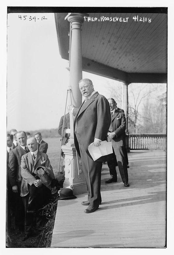 Roosevelt Receives Bankers, 1918