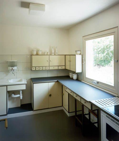 Bauhaus Haus am Horn kitchen 1923 Mid-Century design Pinterest - bauhaus spüle küche