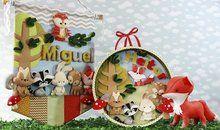 Feltro em decoração para bebês: Floresta encantada
