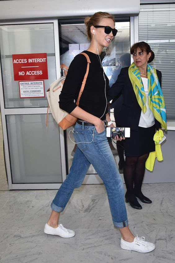 How to master totally chic airport style—Karlie Kloss