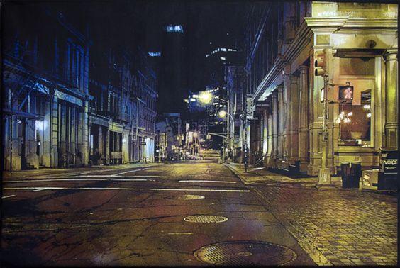 Logan Hicks, Night Reflection