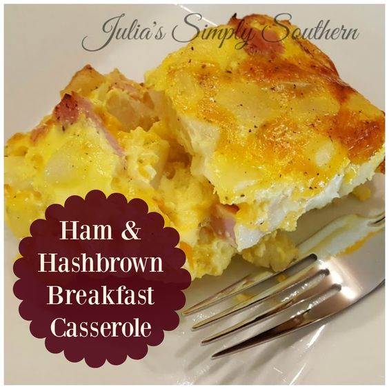 This breakfast casserole is a perfect make ahead recipe. No worries, it doesn't take long to put together in case you miss making it th...