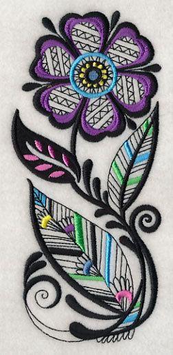 Flour Sack Towel / Quilt Block Floral Charm by creationsbme, $11.99