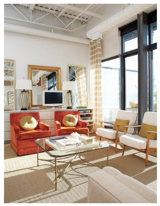 @Jamie Olmstead, those chairs remind me of your mustard ones. i thought this might be a nice inspiration of how to integrate with other furniture. Also, that was really formal.