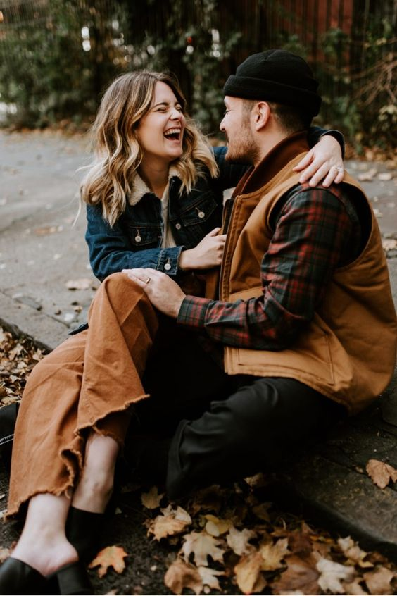 A Fall Romance in Brooklyn | Bailey + Jordan - Anais Possamai Photography