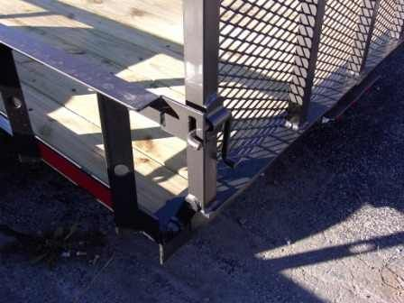 Utility Trailer Gate Latch Welding Ideas Pinterest